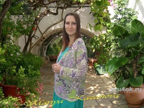 Жакет Вензеля. Работа Марии Казановой вязание и схемы вязания