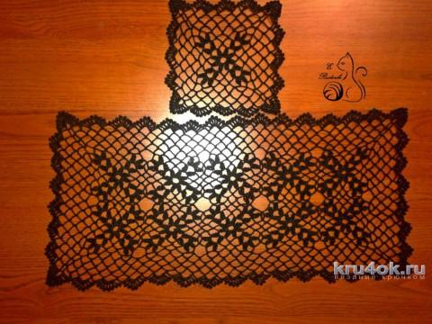 Ажурные салфетки. Работы Евгения Руденко вязание и схемы вязания