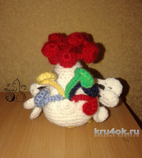 Новогодние сувениры. Работы Евгении Руденко вязание и схемы вязания