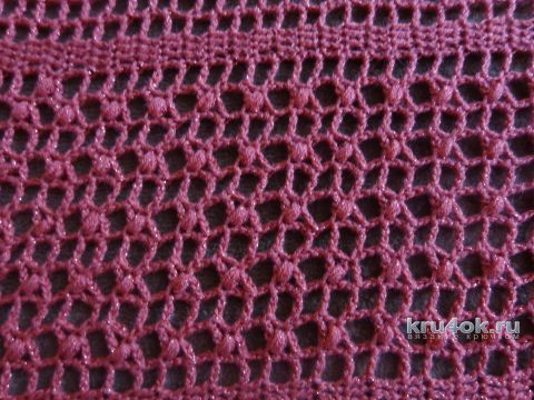 Шаль крючком. Работа Надежды Лавровой вязание и схемы вязания