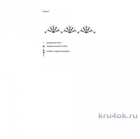 Шапочка с белыми полосками. Работа Эльвиры Ткач вязание и схемы вязания