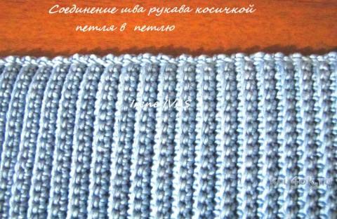 Кардиган крючком. Поперечная вязка. Работа Арины вязание и схемы вязания
