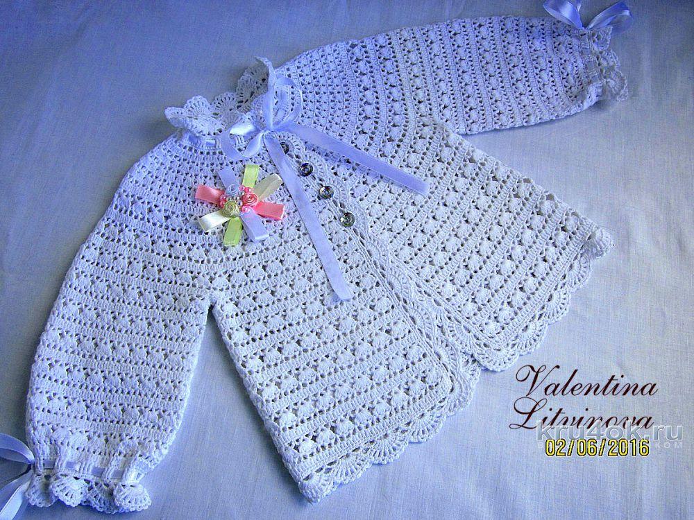 кофточки для девочки схемы вязания