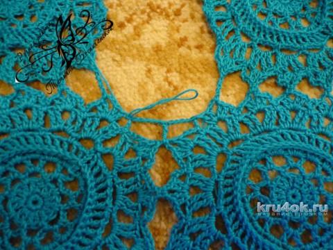 Вязаная крючком юбка. Работа Татьяны Беспичанской вязание и схемы вязания