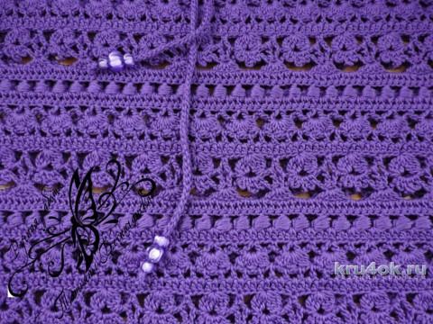 Вязаная юбка. Работа Татьяны Беспичанской вязание и схемы вязания