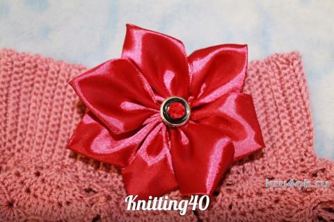 Юбочка для девочки крючком. Работа Анны Касьяновой вязание и схемы вязания