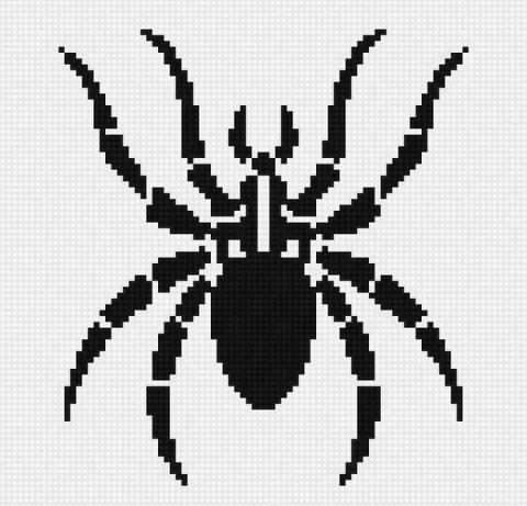 схема жаккард паук