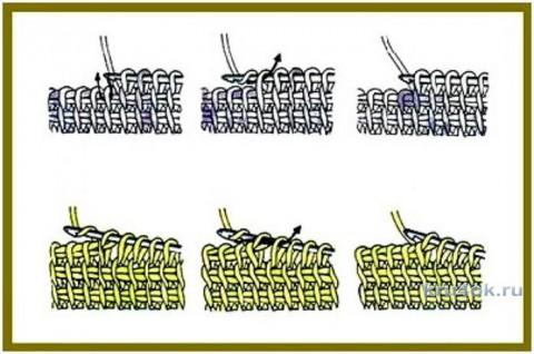 Берет Космея в технике фриформ. Работа Светланы Шевченко вязание и схемы вязания