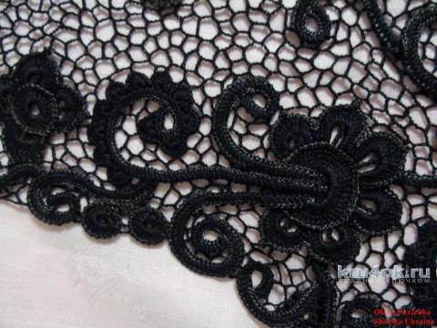 Болеро Агат. Работа Елены Павленко вязание и схемы вязания