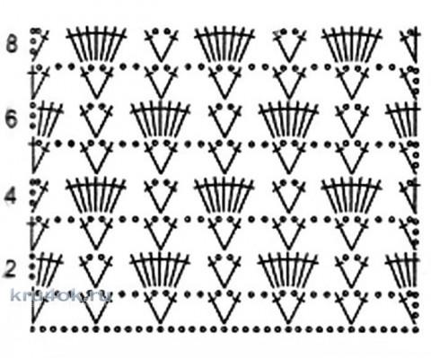 Летний жакет крючком. Работа Валентины Литвиновой вязание и схемы вязания