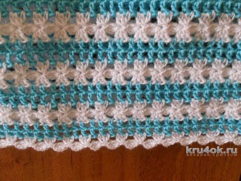 Сарафан в полоску для девочки. Работа Эльвиры Ткач вязание и схемы вязания