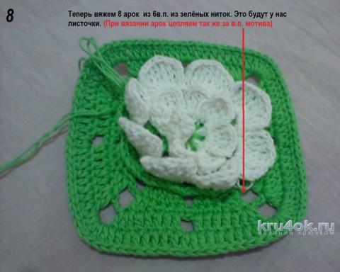 Сумочка крючком. Мастер - класс от Елены Николаевны вязание и схемы вязания