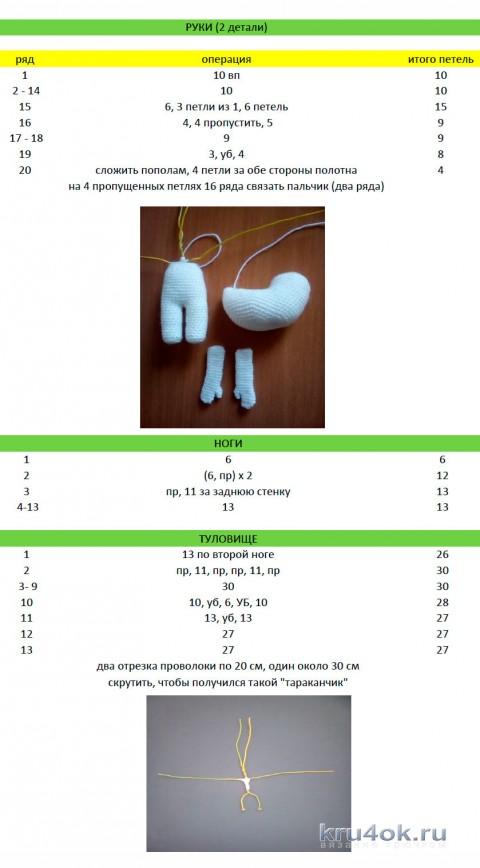 описание игрушки крючком