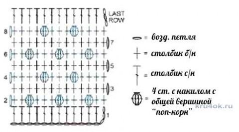 Кардиган крючком. Работа Inna Aliyeva вязание и схемы вязания