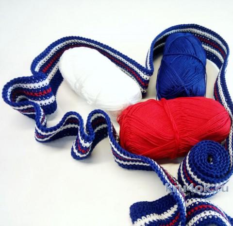 Классическое платье - матроска. Работа Надежды Юсуповой вязание и схемы вязания