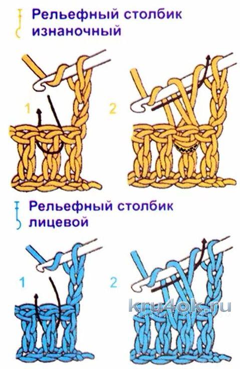 Пинетки крючком. Работа Галины вязание и схемы вязания