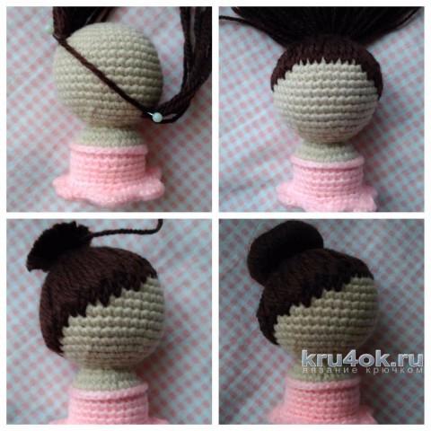Вязаная крючком балерина. Мастер - класс от Ксении вязание и схемы вязания