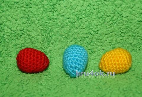 Пасхальная корзинка крючком. Мастер - класс от Юлии Конончук вязание и схемы вязания