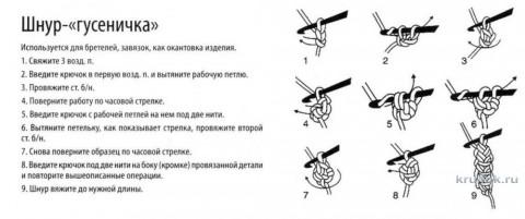 Берет Ночь нежна. Работа Светланы Шевченко вязание и схемы вязания
