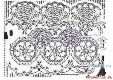 Болеро крючком. Работа Веры Коваль вязание и схемы вязания