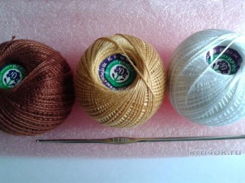 Пасхальный кулич крючком. Мастер - класс от Фланденой Татьяны вязание и схемы вязания