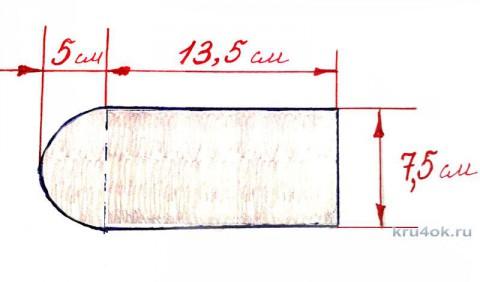Чехол для смартфона крючком. Мастер - класс от Фланденой Татьяны вязание и схемы вязания