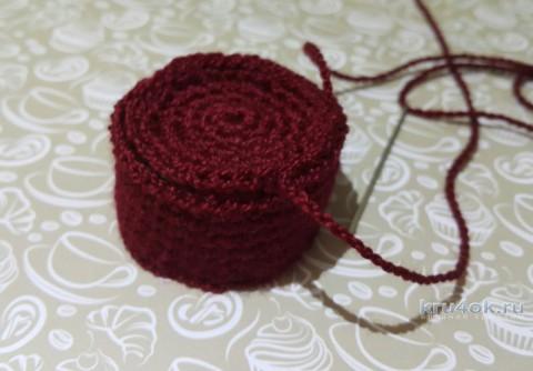 Игольница в виде кактуса. Работа Alice вязание и схемы вязания