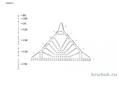 схем ажурного топа борцовки