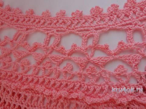 Женское платье Оливия. Работа Надежды Лавровой вязание и схемы вязания