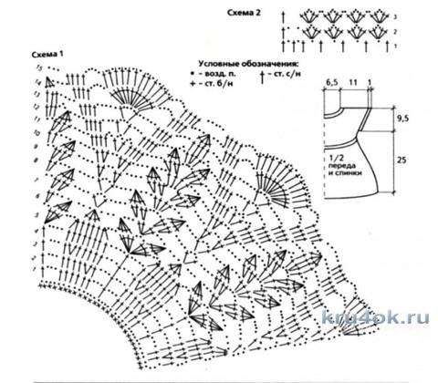 Комплект для Полинки. Работа Елены Ворожко вязание и схемы вязания