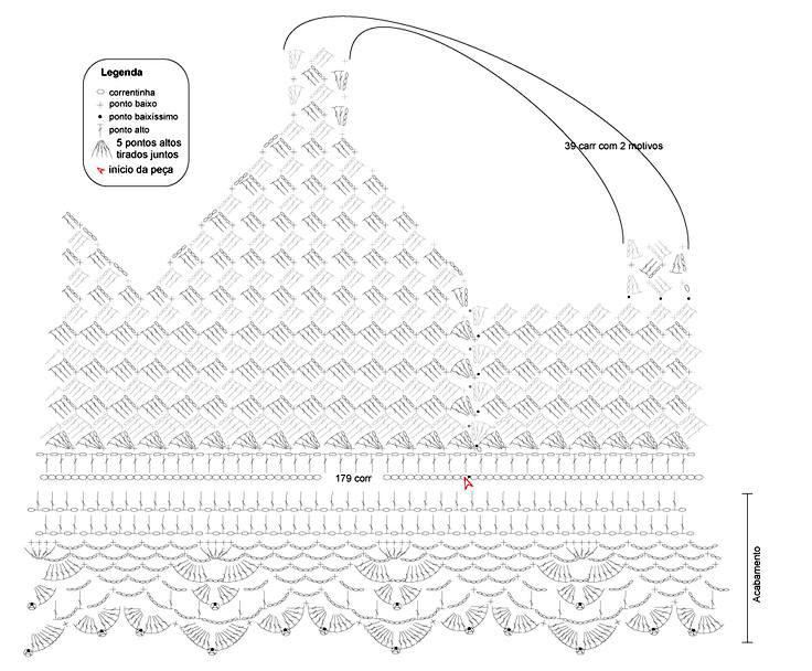 Схемы вязание крючком топы » и другие образцы.