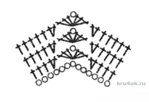 Сарафан и кофточка Цветок Сакуры. Работы Катерины Петяниной вязание и схемы вязания