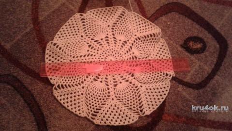 Вязаный крючком берет. Работа Юлии Ковалевой вязание и схемы вязания