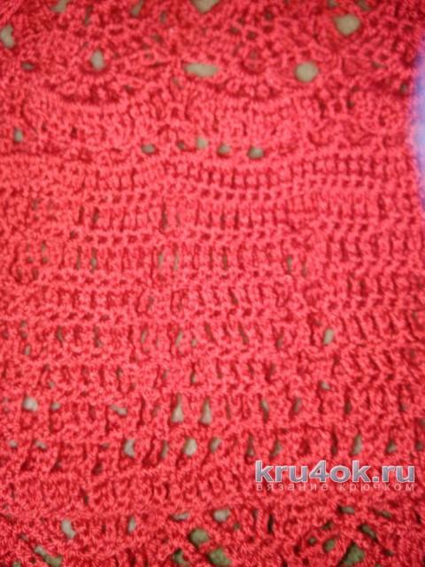 Женская юбка крючком. Работа Лидии Климович вязание и схемы вязания