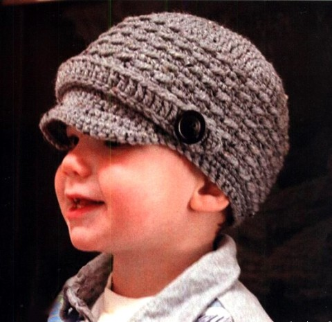 кепки для мальчика крючком