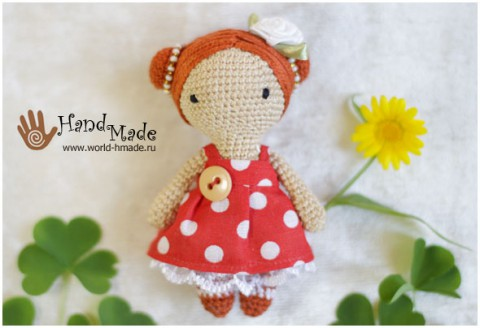 Амигуруми куколка Бетти крючком
