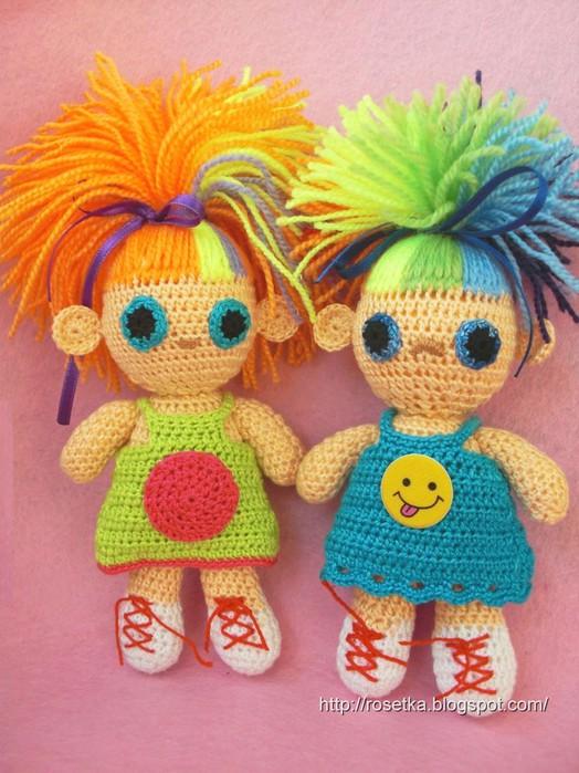 44 куклы связанные крючком с описанием и схемами