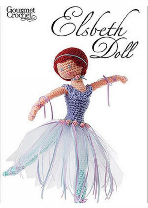 кукла балерина крючком
