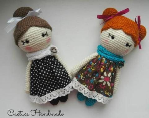 куклы крючком фото