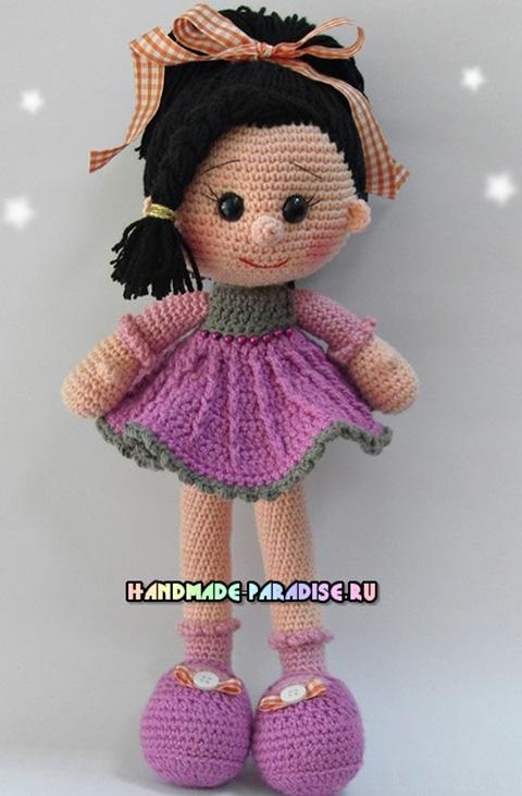 33 куклы связанные крючком с описанием и схемами