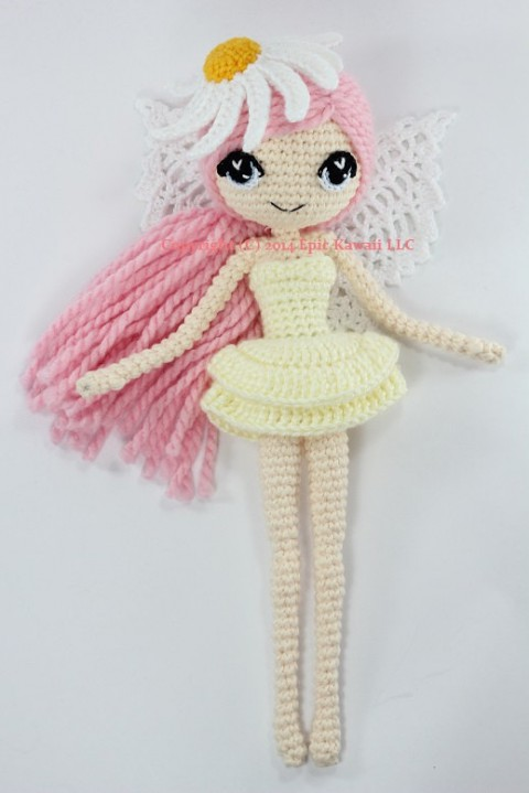 фото вязаной <em>схемы</em> крючком куклы