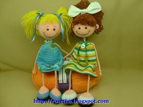 кукла промокашка крючком фото