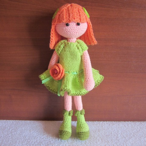 кукла крючком фото