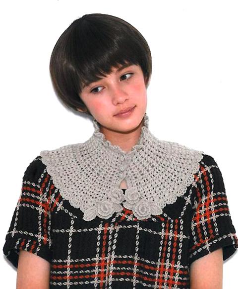 Манишка для женщин схема вязания