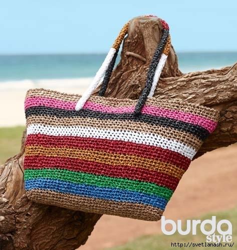 фото пляжной сумки