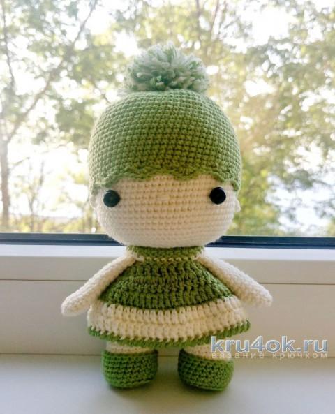 Кукла Веточка крючком. Работа Александры Янковской вязание и схемы вязания