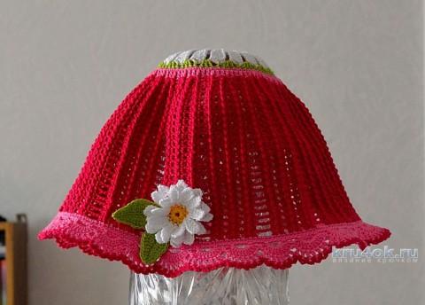 Сарафан, шляпка и сумочка для девочки. Работы Светланы вязание и схемы вязания