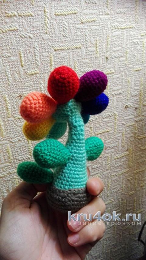 Игрушка крючком. Работа Елены Аистовой вязание и схемы вязания