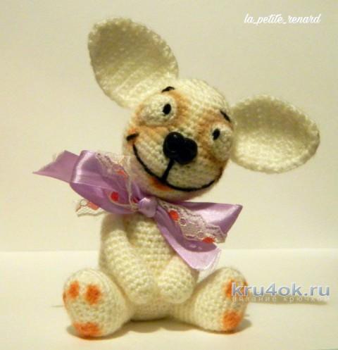 Чишечка - улыбашка крючком. Работа Александры Лисициной вязание и схемы вязания