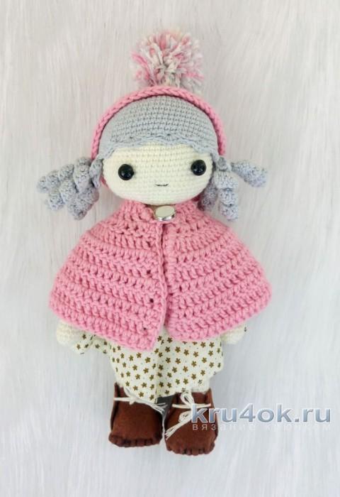 Кукла крючком. Работа Александры Янковской вязание и схемы вязания